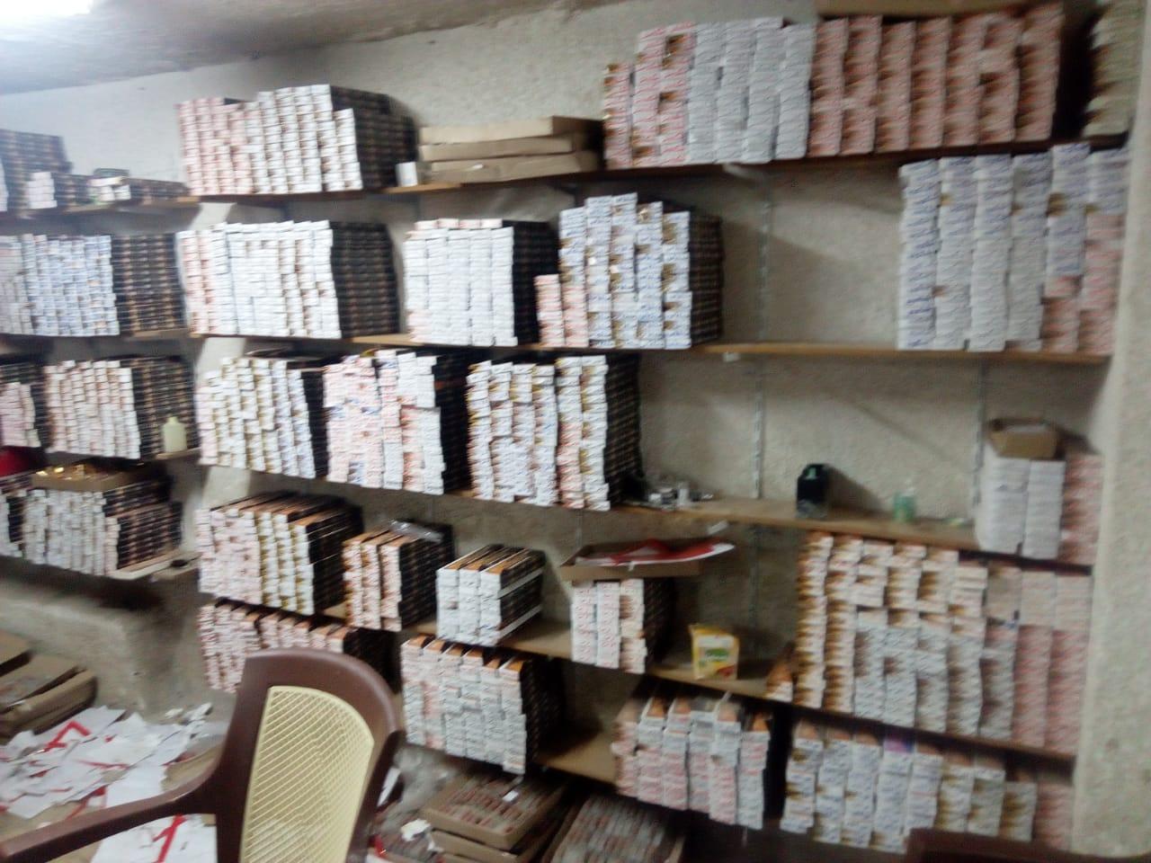 ضبط مصنع عطور مجهولة (4)
