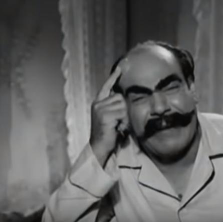 مشهد من فيلم عنتر و لبلب (3)