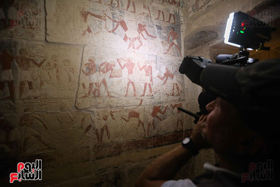 افتتاح مقبرة ميحو (8)