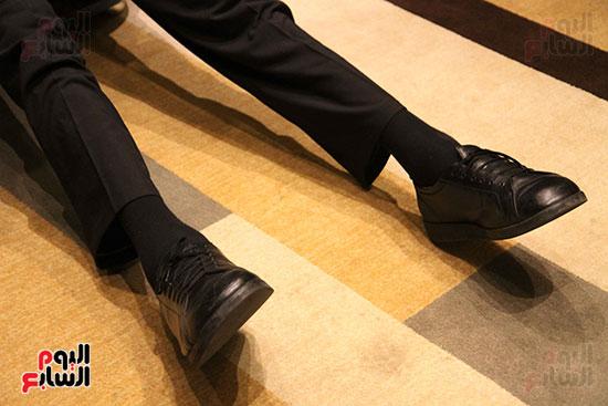 حذاء أطول رجل فى العالم