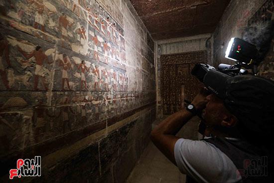افتتاح مقبرة ميحو (5)
