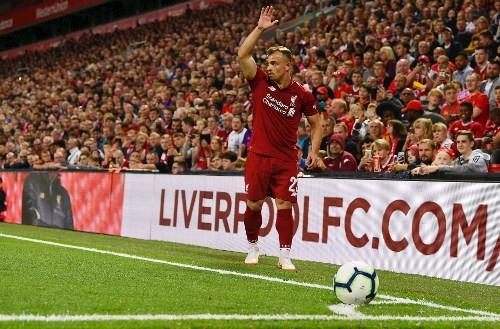 شاكيري لاعب ليفربول