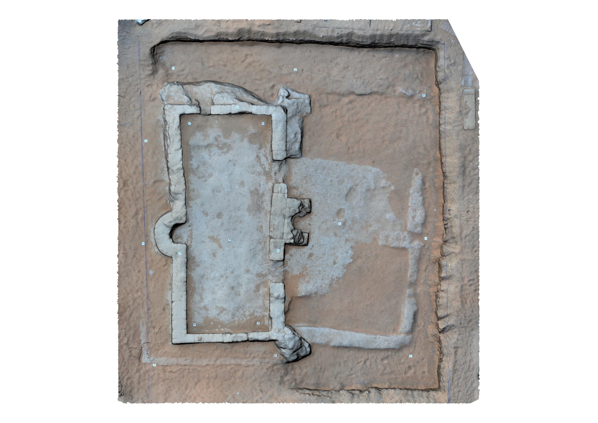 تصور ثلاثي الأبعاد لأقدم مسجد في الدولة بالعين