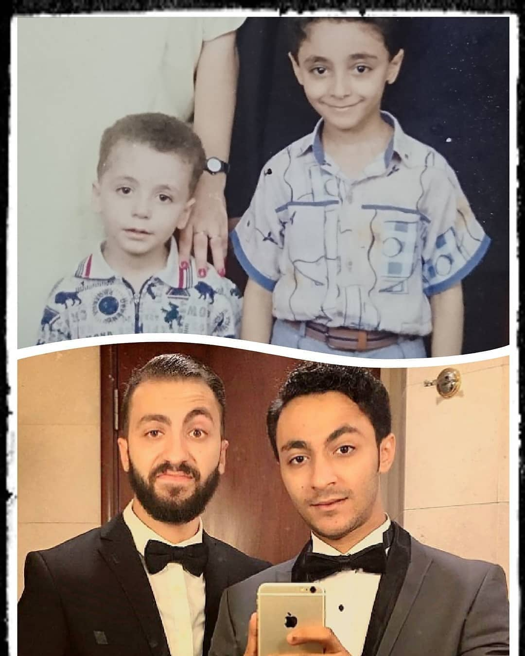 ابرام سمير وشقيقه ابانوب