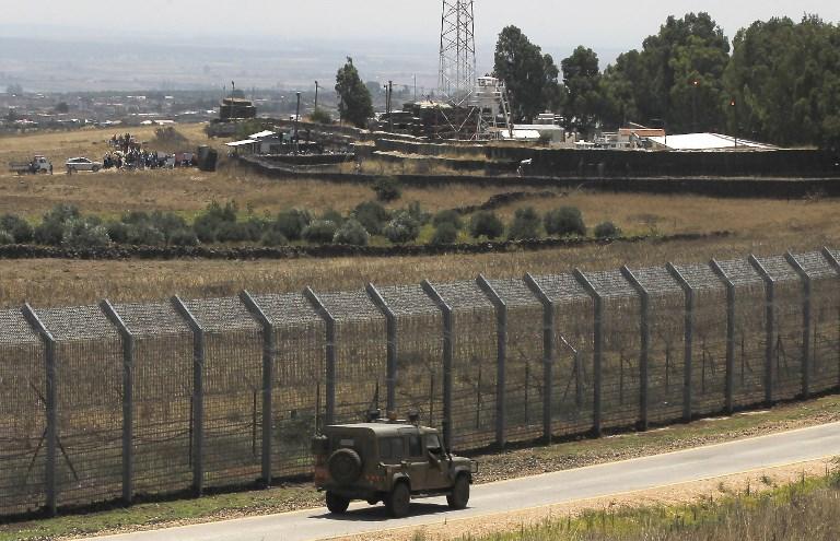 الحدود السورية الاسرائيلية