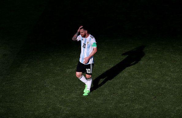 ميسي فشل فى تحقيق كأس العالم