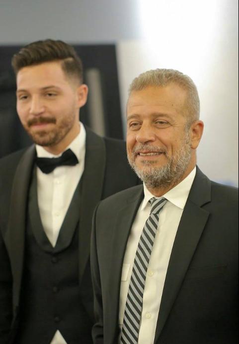 محمود حجازى وشريف منير