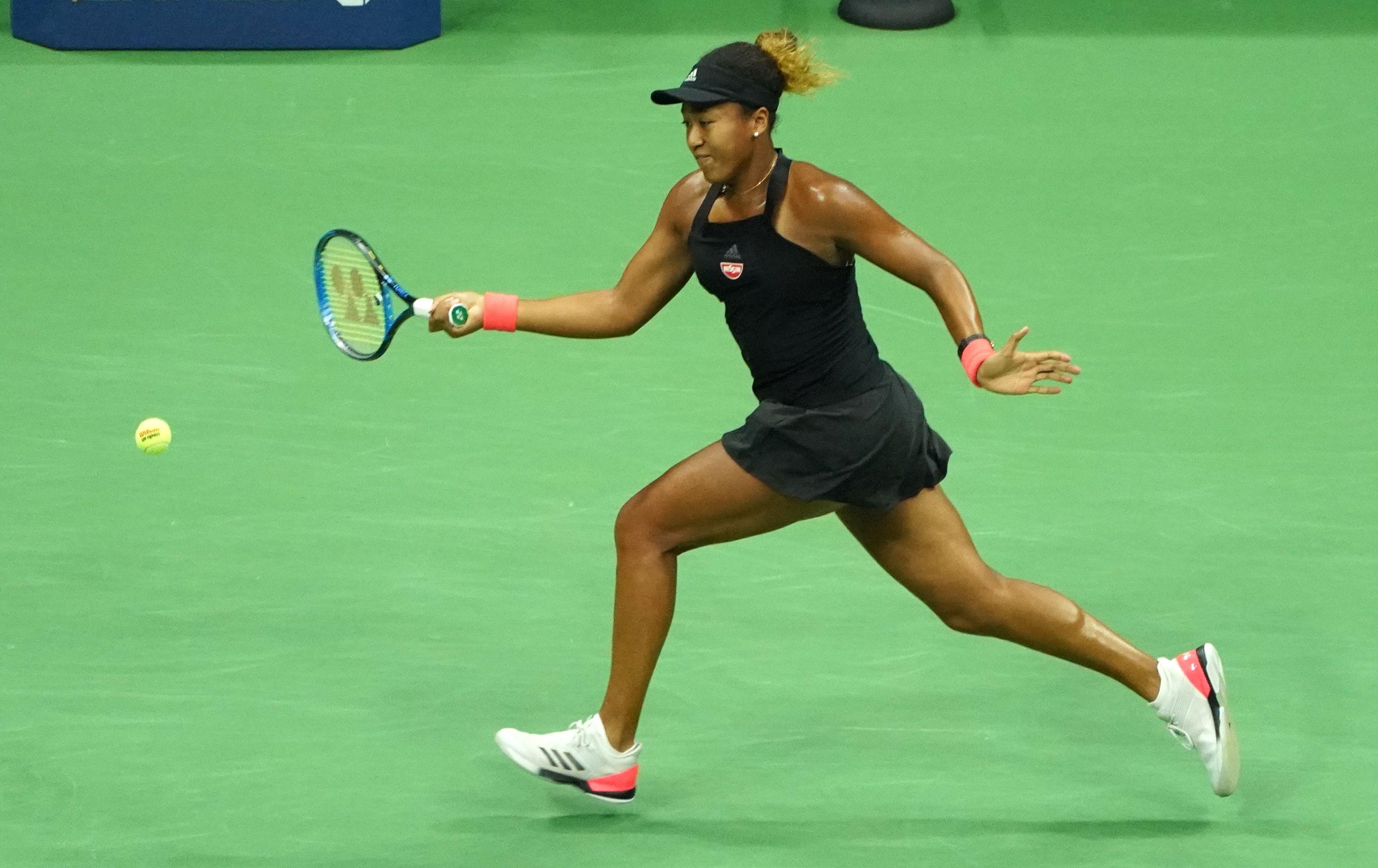 لاعبة التنس المفتوح أوساكا