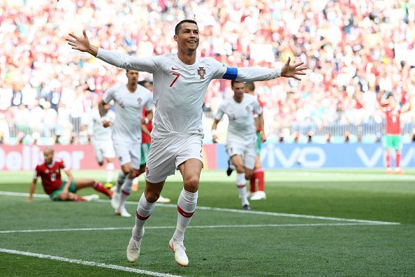 كريستيانو سجل 4 أهداف فى كأس العالم