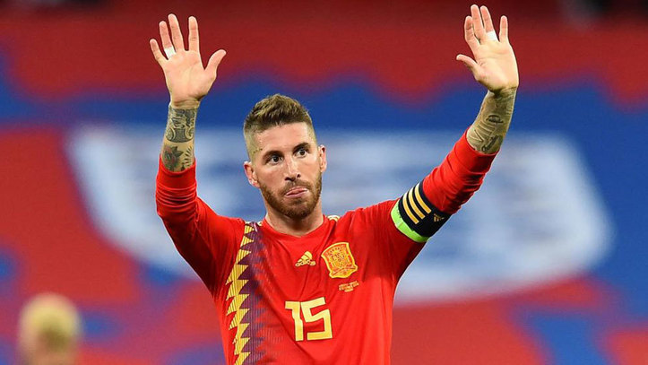 راموس قائد ريال مدريد ومنتخب أسبانيا
