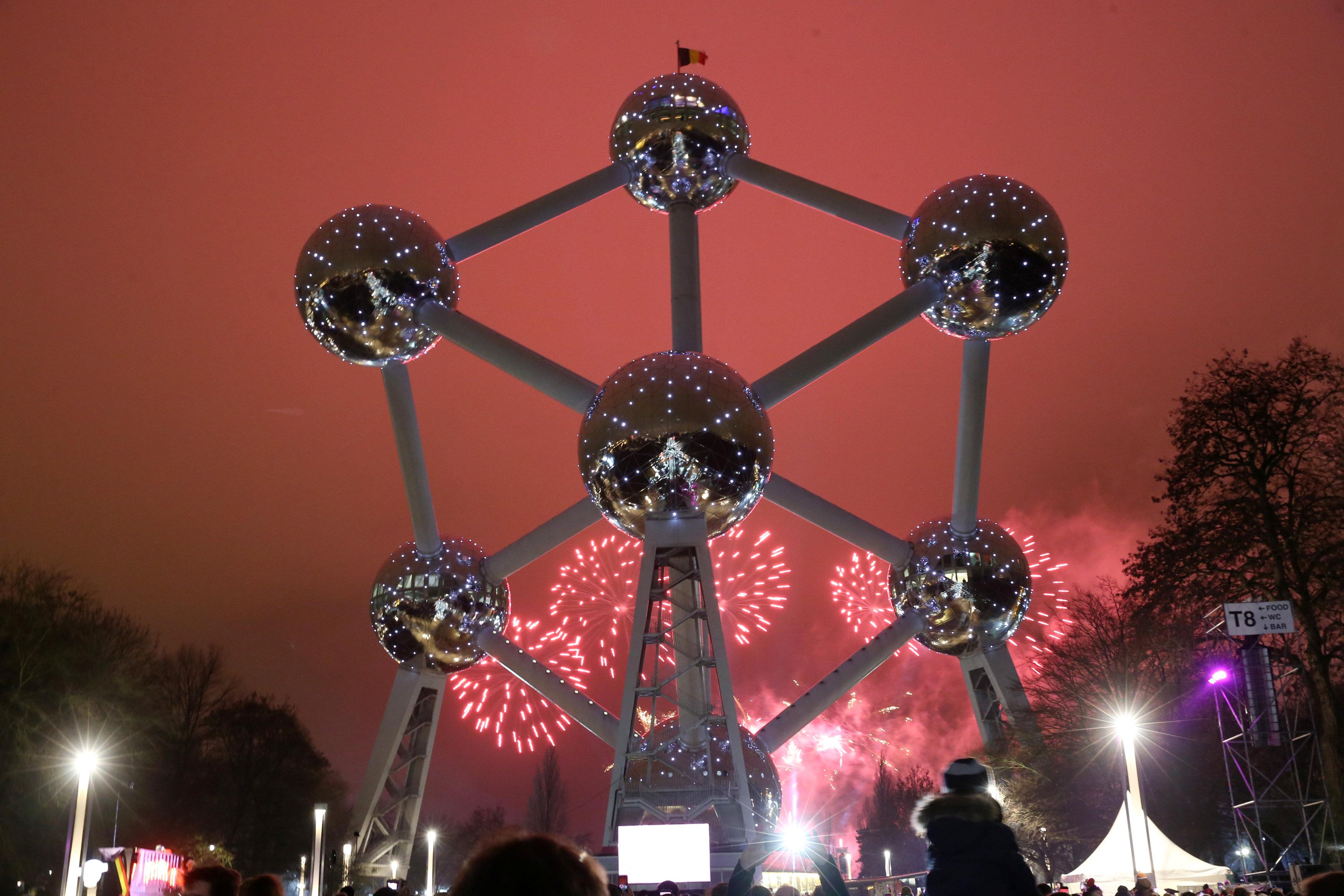 احتفالات فى بلجيكا