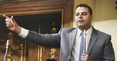 النائب نادر مصطفى، أمين سر لجنة الإعلام بالبرلمان