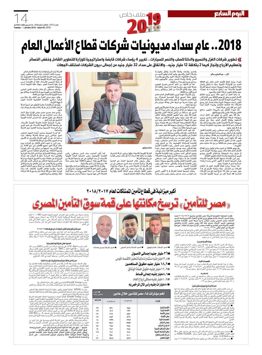 1b3fa9f8f مصر من الإصلاح إلى النجاح.. اقتصاد منطلق فى 2019 نحو آفاق أرحب ...