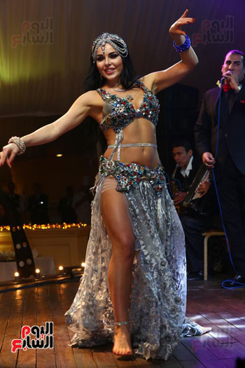 آلا كوشنير تحيى حفل رأس السنة بأحد الفنادق (23)