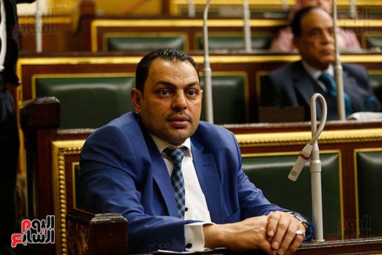 النائب سامح السايح، عضو لجنة الخطة والموازنة بالبرلمان