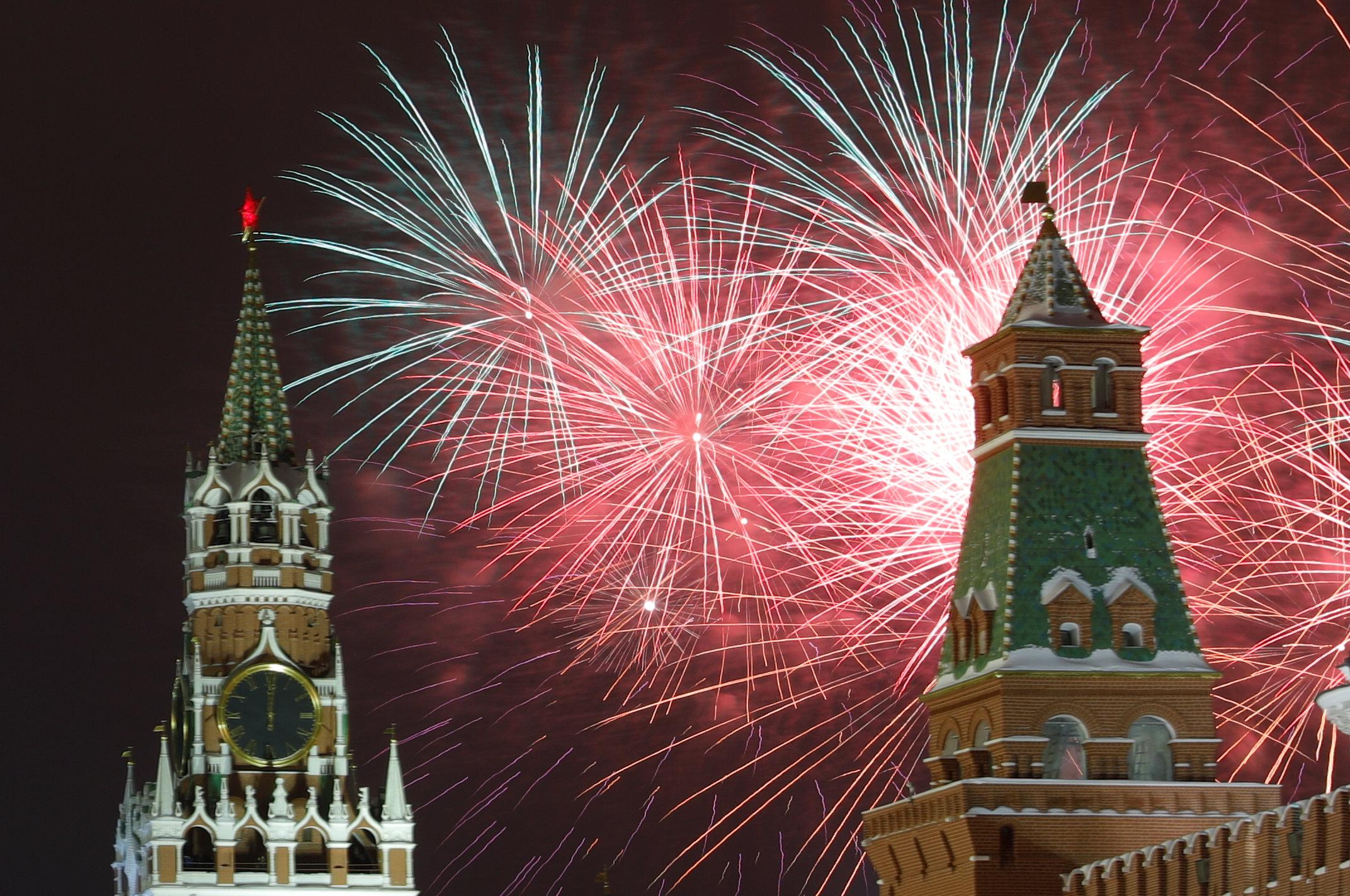 احتفالات روسيا بالعام الجديد