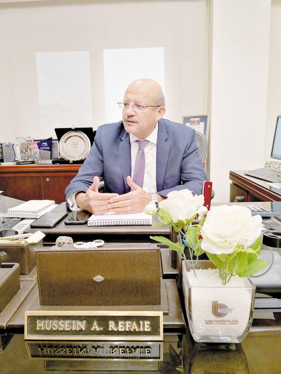 حسين-رفاعى-رئيس-بنك-قناة-السويس