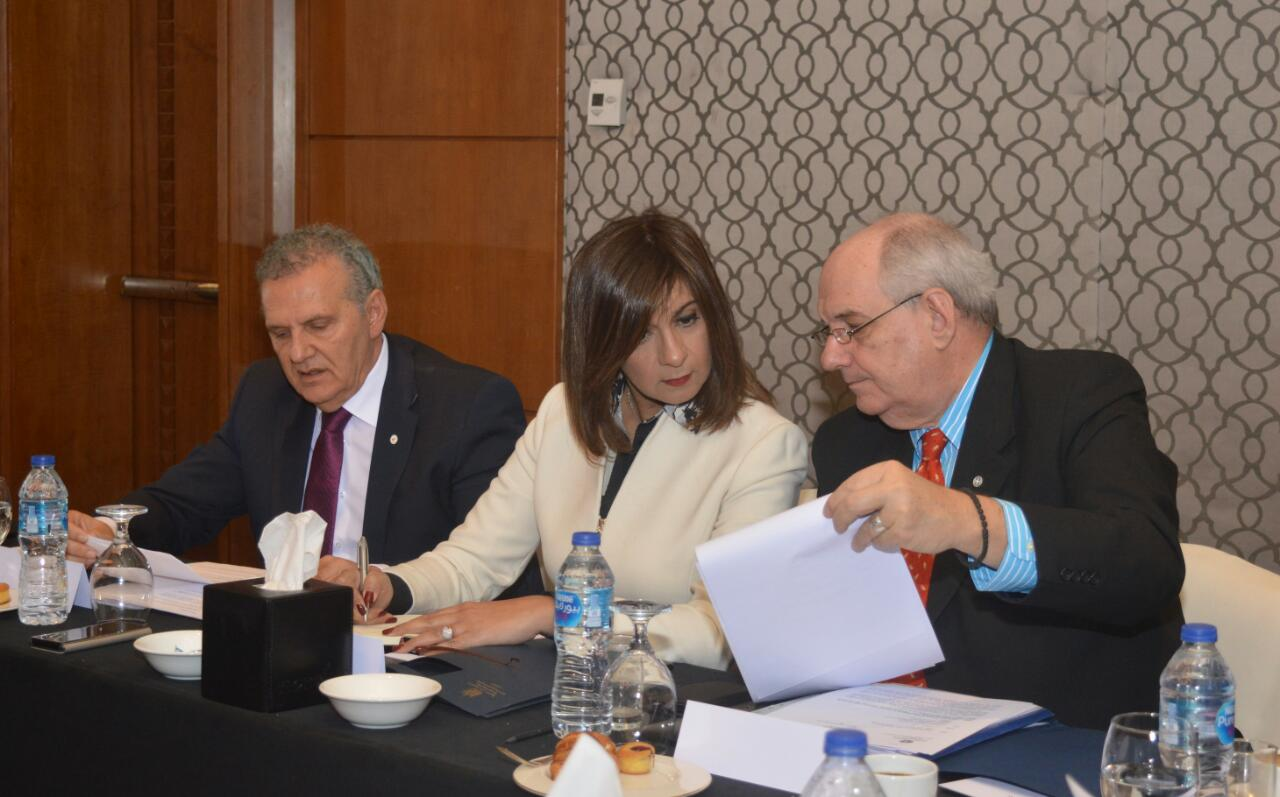 لقاء وزيرة الهجرة و وزير الخارجية اليوناني (9)