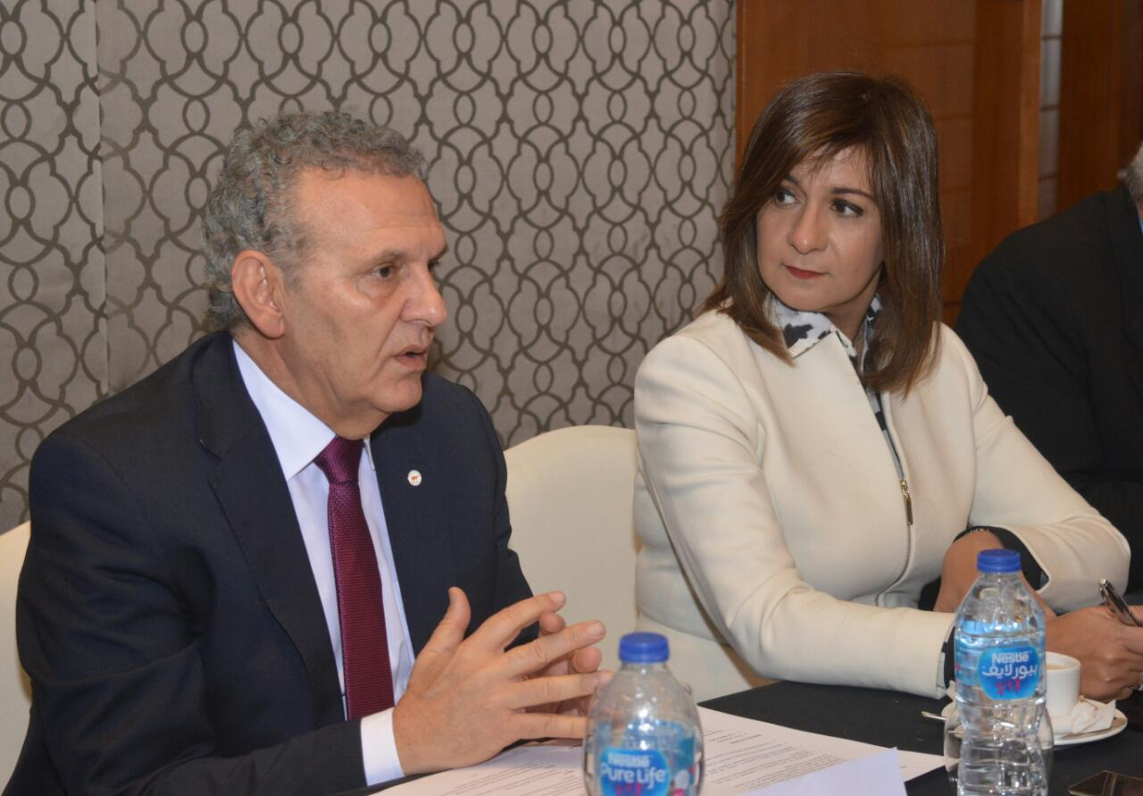 لقاء وزيرة الهجرة و وزير الخارجية اليوناني (4)