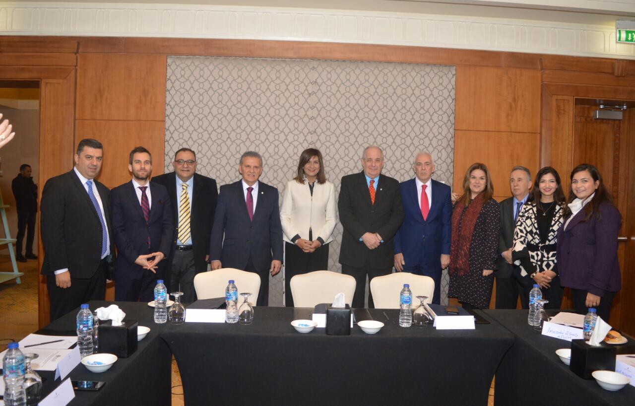 لقاء وزيرة الهجرة و وزير الخارجية اليوناني (5)