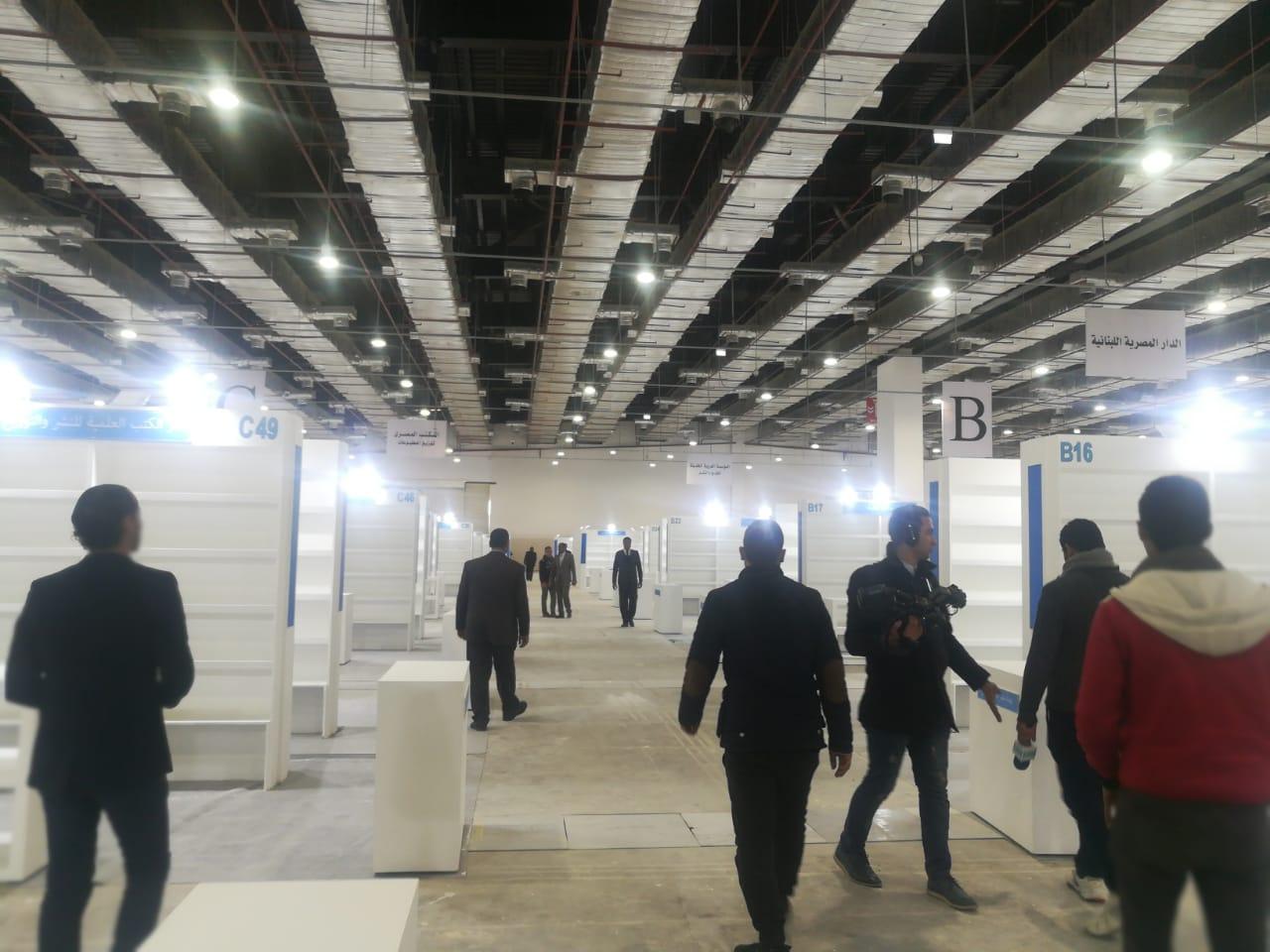 تجهيزات معرض القاهرة للكتاب (4)