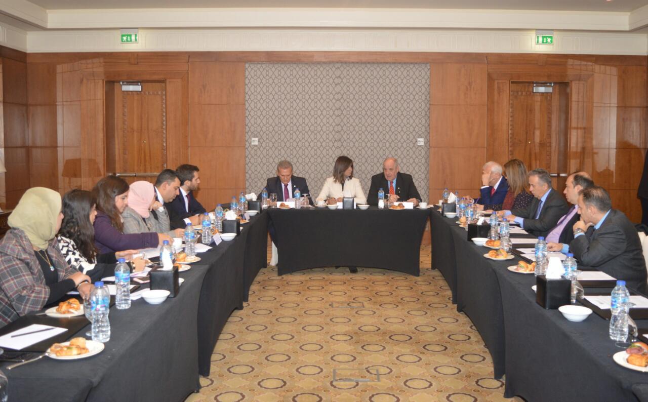لقاء وزيرة الهجرة و وزير الخارجية اليوناني (2)
