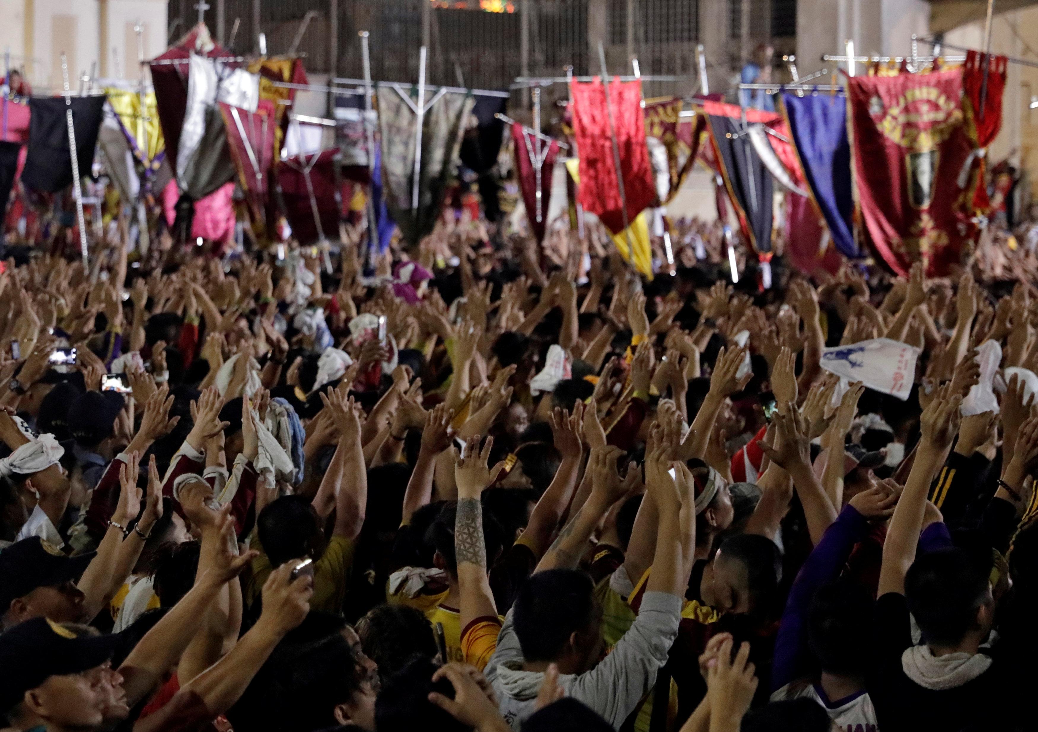 مسيرة الناصرى الأسود بمانيلا (15)