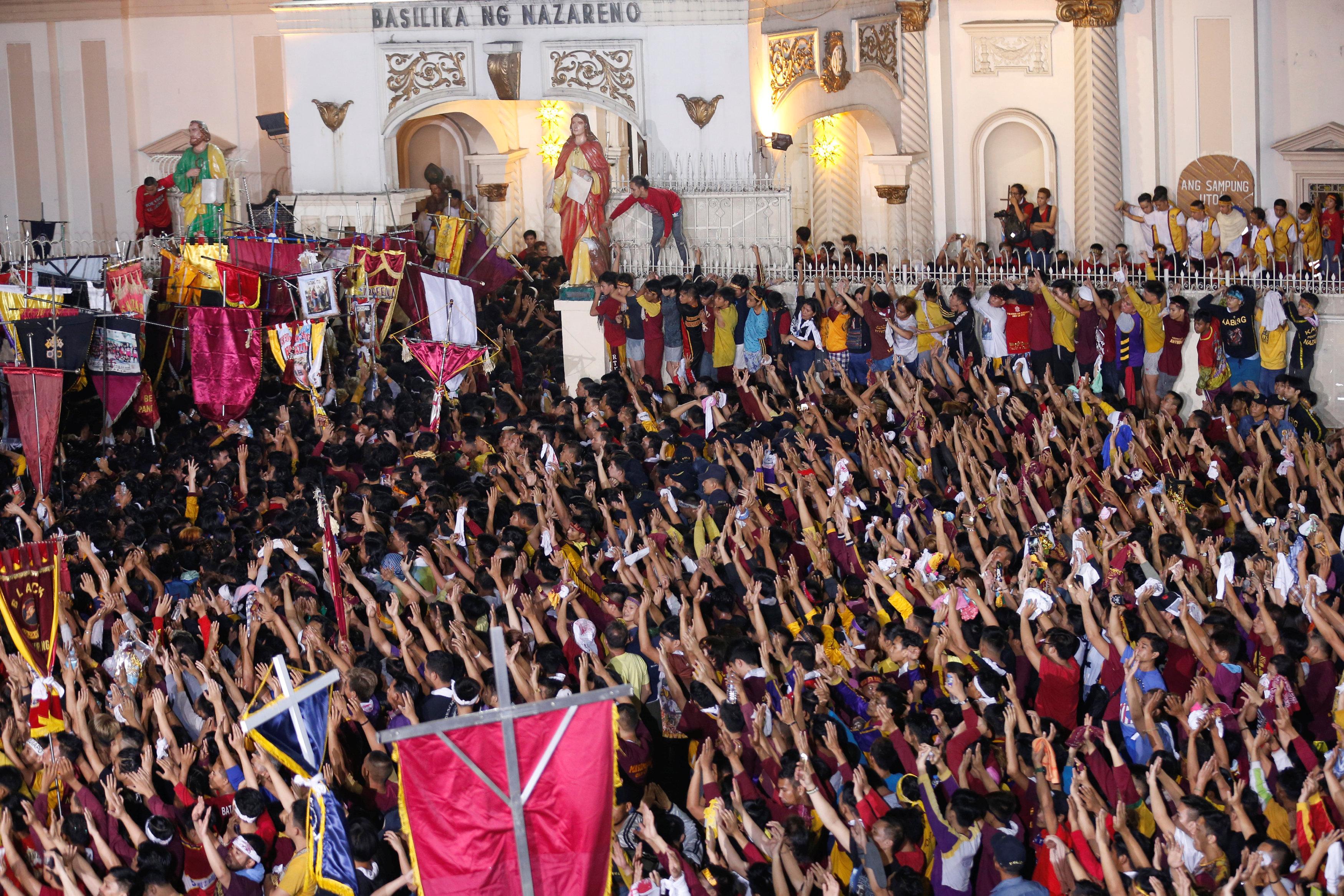 مسيرة الناصرى الأسود بمانيلا (17)