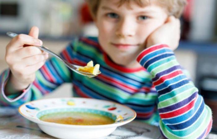 الشوربة ابرز اكلات البرد للأطفال