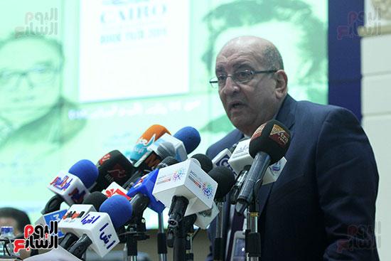 صور الاعلان عن اليوبيل الذهبى لمعرض القاهرة الدولى للكتاب (1)