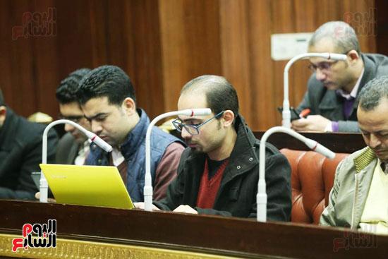الموتمر الصحفي للمتحدث الرسمي لمجلس النواب لعرض انجازات المجلس  (8)