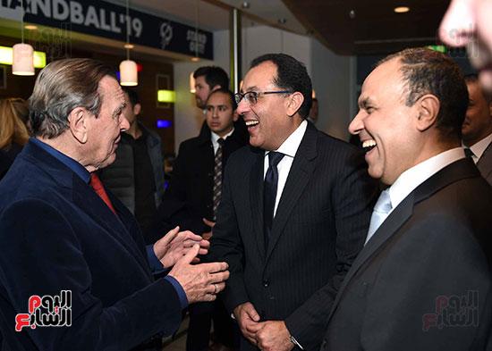 صور رئيس الوزراء يشهد افتتاح بطولة العالم لكرة اليد للرجال  (1)