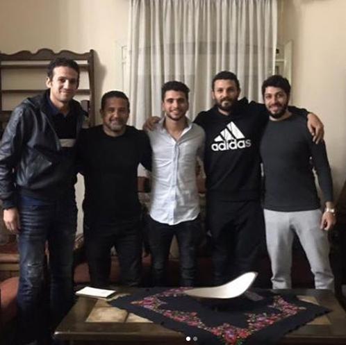محمد محمود مع غالى و فضل