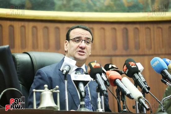 الموتمر الصحفي للمتحدث الرسمي لمجلس النواب لعرض انجازات المجلس  (5)