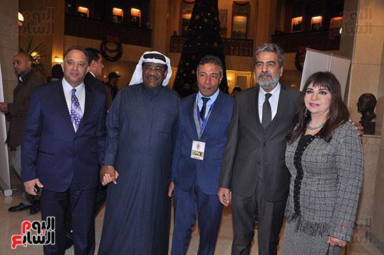 صور حفل مهرجان المسرح العربي (7)