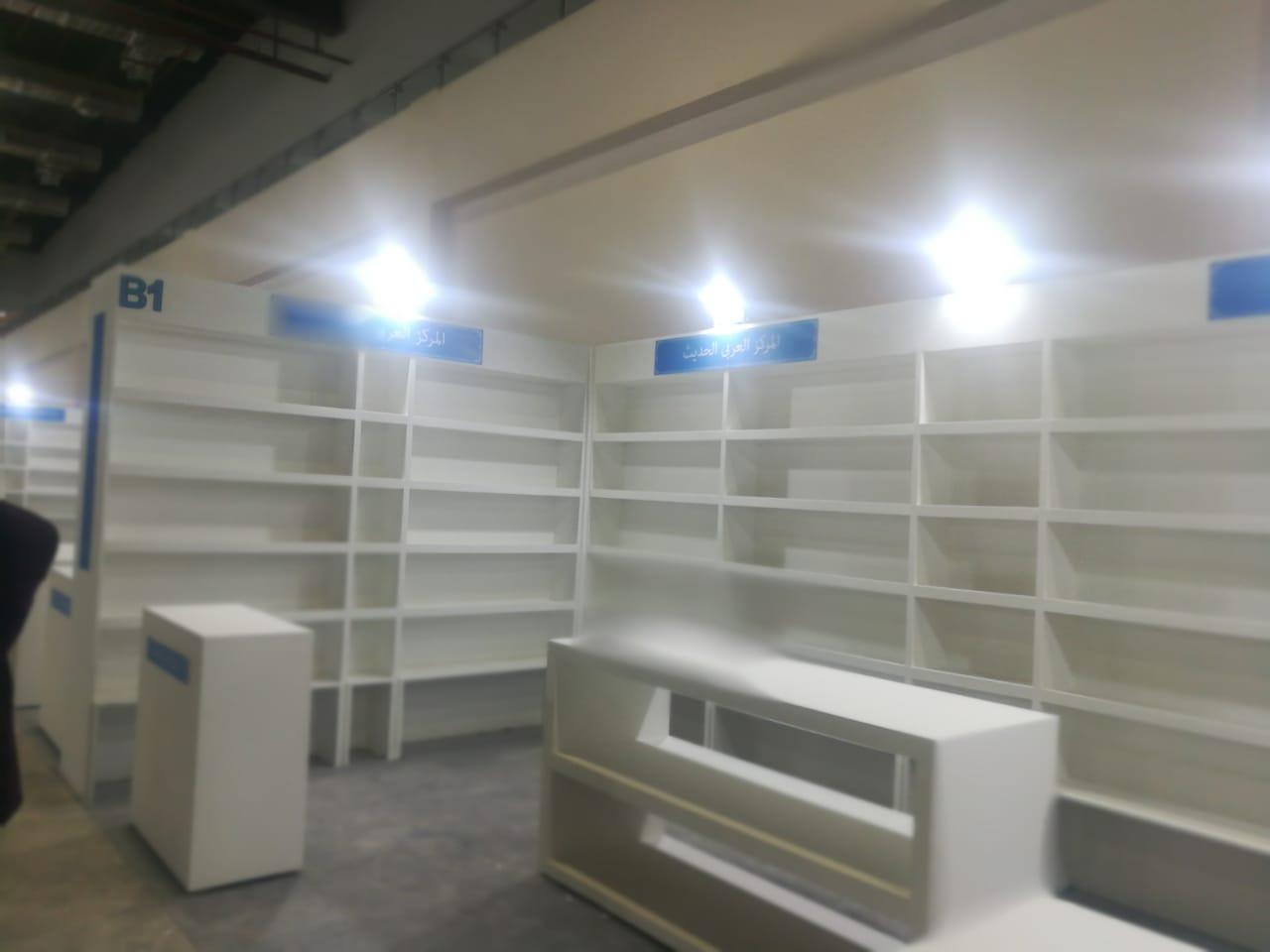 تجهيزات معرض القاهرة للكتاب (3)