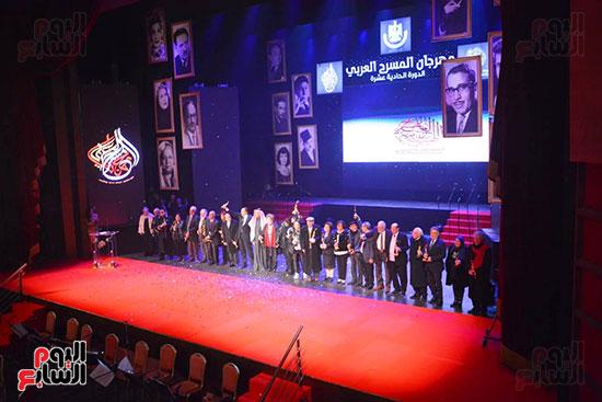 صور مهرجان المسرح العربي (3)