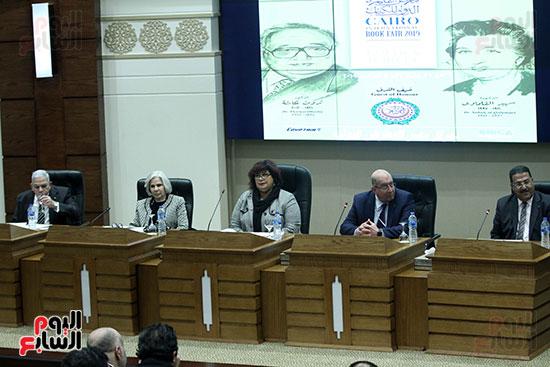 صور الاعلان عن اليوبيل الذهبى لمعرض القاهرة الدولى للكتاب (11)