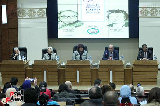 صور الاعلان عن اليوبيل الذهبى لمعرض القاهرة الدولى للكتاب (6)