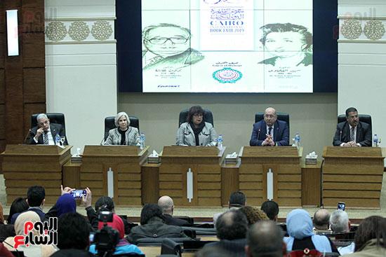 صور الاعلان عن اليوبيل الذهبى لمعرض القاهرة الدولى للكتاب (7)