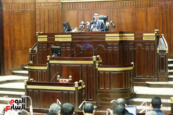 الموتمر الصحفي للمتحدث الرسمي لمجلس النواب لعرض انجازات المجلس  (6)