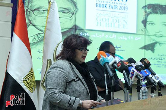 صور الاعلان عن اليوبيل الذهبى لمعرض القاهرة الدولى للكتاب (16)
