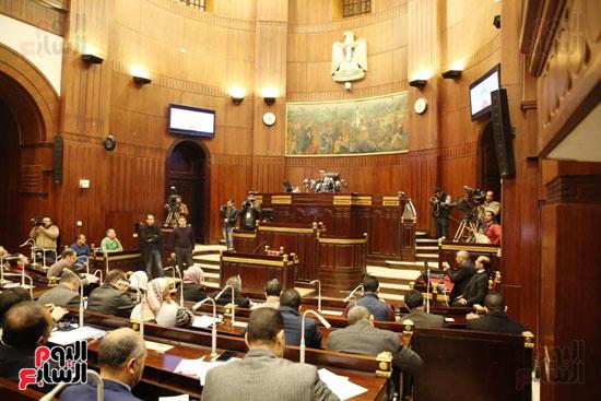 الموتمر الصحفي للمتحدث الرسمي لمجلس النواب لعرض انجازات المجلس  (1)