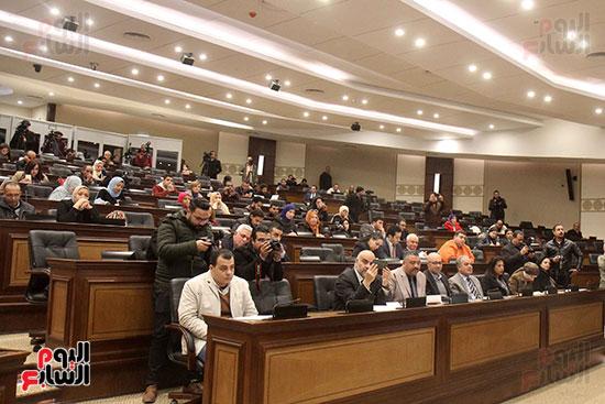صور الاعلان عن اليوبيل الذهبى لمعرض القاهرة الدولى للكتاب (15)