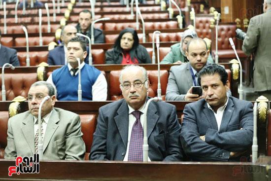 الموتمر الصحفي للمتحدث الرسمي لمجلس النواب لعرض انجازات المجلس  (4)