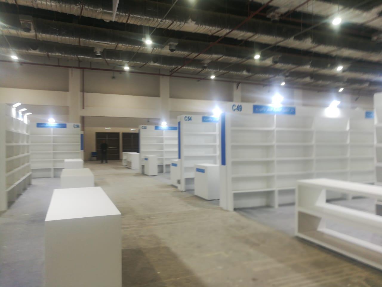 تجهيزات معرض القاهرة للكتاب (2)