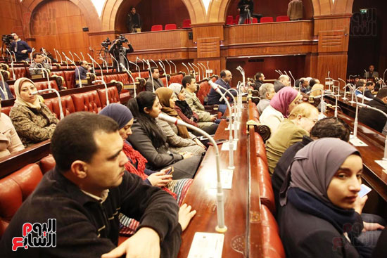 الموتمر الصحفي للمتحدث الرسمي لمجلس النواب لعرض انجازات المجلس  (3)