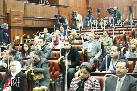 الموتمر الصحفي للمتحدث الرسمي لمجلس النواب لعرض انجازات المجلس  (10)