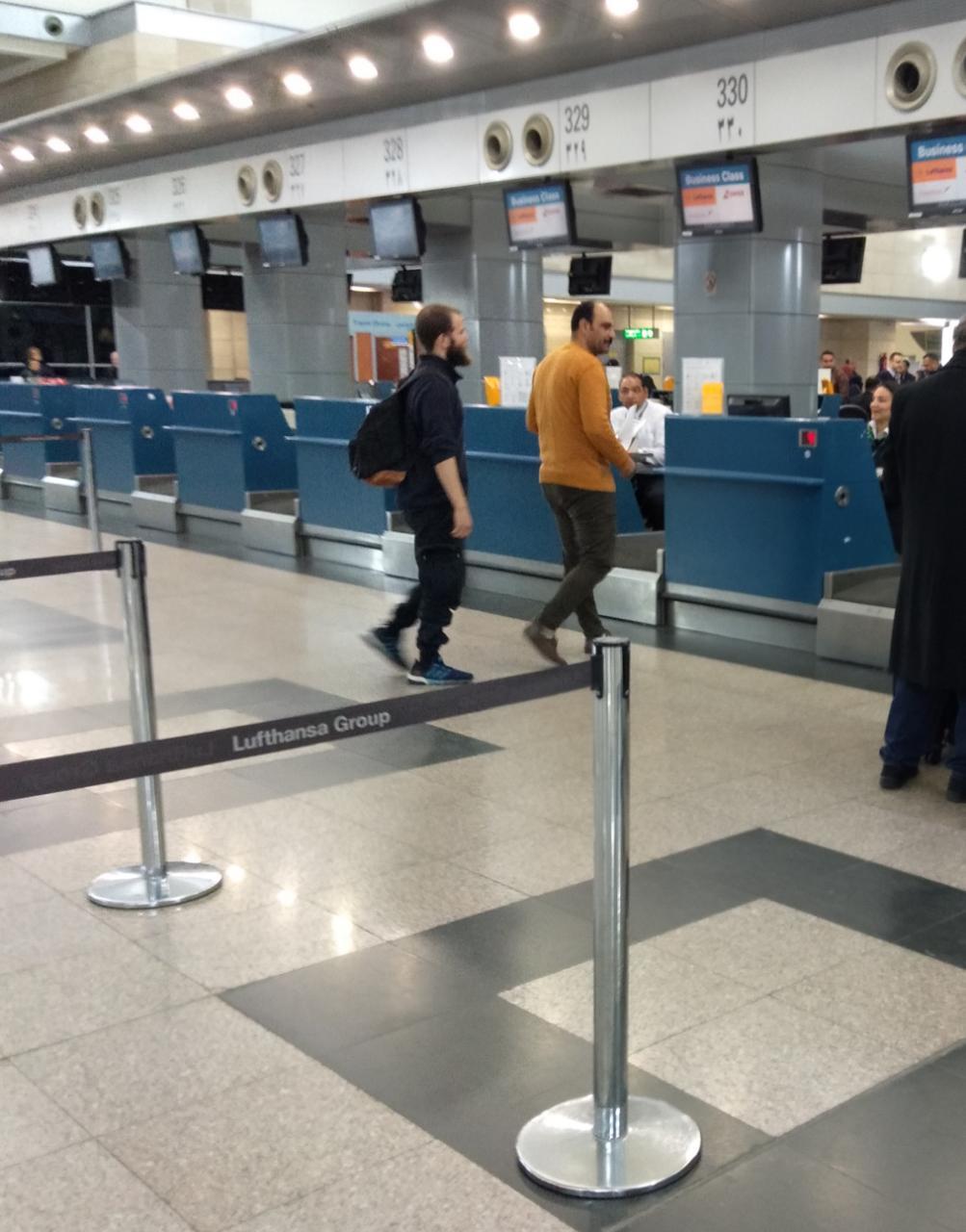 الأمن يضبط ألمانيين من أصل مصرى لانتمائهما لتنظيم داعش الإرهابى (2)