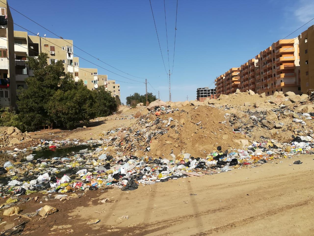 تراكم القمامة1